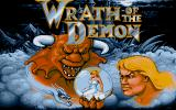 Wrath of the Demon Atari ST Title screen