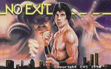 No Exit Atari ST Title screen