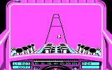 Stunt Track Racer DOS Jumping! (CGA).