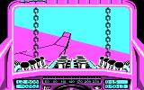 Stunt Track Racer DOS Ups... A little accident (CGA).