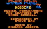 James Pond 2: Codename: RoboCod Atari ST Title and credits