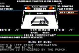 Ringside Seat Apple II Round four: a longer message, indicating the worsening condition of the opponent