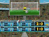 Football Limited Amiga During the match - what will the goalkeeper do?