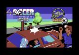 4 Soccer Simulators Commodore 64 Title screen for Street Soccer