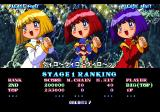 Magical Night Dreams: Cotton Boomerang SEGA Saturn The game also shows you your ranking for the completed level.