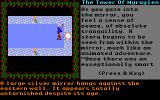 Tower of Myraglen Apple IIgs The game's story is mostly told through the visions you have and the voices you hear