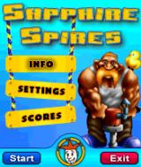 Sapphire Spires Symbian Title screen