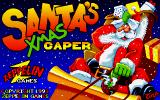 Santa's Xmas Caper DOS Title screen