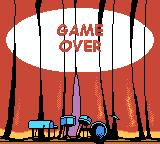 Jim Henson's Muppets Game Boy Color I lost all my lives. Game over.