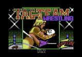 American Tag-Team Wrestling Commodore 64 Title screen