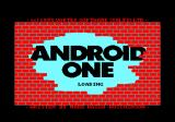 Android One: The Reactor Run Amstrad CPC Loading screen