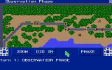 Wargame Construction Set Amiga In game play.