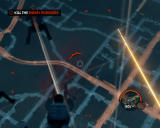 Saints Row: The Third Windows Sky-diving and shooting enemies at the same time