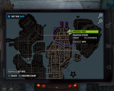 Saints Row: The Third Windows Map with a GPS feature