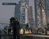 Saints Row: The Third Windows Posing for a marvelous view