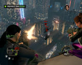 Saints Row: The Third Windows On-rails shooting mission - with a breathtaking view