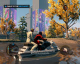 Saints Row: The Third Windows In a boat, enjoying the quiet life, the nature...