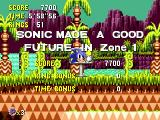 Sonic CD SEGA CD Good Future