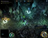 Might & Magic: Heroes VI Windows On the adventure map, exploring underground tunnels