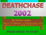 Deathchase 2002 Windows Title screen