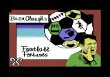 Brian Clough's Football Fortunes Commodore 64 Loading screen