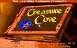 Treasure Cove! DOS Title screen