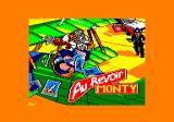 Auf Wiedersehen Monty Amstrad CPC Loading screen (French version)