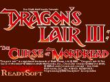 Dragon's Lair III: The Curse of Mordread Amiga Title picture