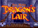 Dragon's Lair Amiga Title screen