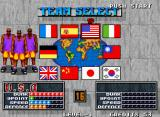 Street Slam Neo Geo Team selection