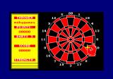 Bullseye Amstrad CPC The dartboard of round 2