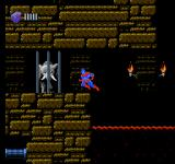 Captain Planet and the Planeteers NES Continue to rescue elephants in tomb-like level 4-2