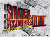 Steel Panthers III: Brigade Command - 1939-1999 DOS Title screen