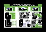 Mystery Master: Murder by the Dozen Commodore 64 Map of the city