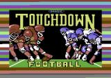 Touchdown Football Commodore 64 Loading screen