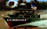 Gunboat DOS Title screen