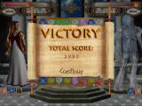 Throne of Olympus Windows A victory screen