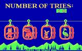 Alpine Tram Ride DOS Puzzle solved in 10 turns  (CGA)