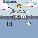 Radical Fishing Browser Title screen
