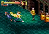 Streets of Rage 2 Genesis Dragon Punch