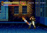 Streets of Rage 2 Genesis Corkscrew Kick