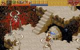 Heimdall 2: Into the Hall of Worlds DOS near the fountain