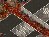 Alien Shooter: Fight for Life Windows More messy hallways after dealing with hundreds of aliens.