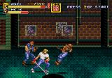 Streets of Rage 2 Genesis Pipe Smash