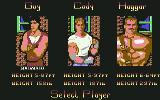 Final Fight Commodore 64 Select Player