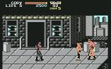 Final Fight Commodore 64 Fighting on the streets