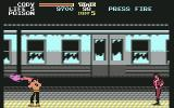 Final Fight Commodore 64 The Subway