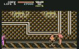 Final Fight Commodore 64 Fighting on the railtracks