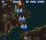 Aero Fighters SNES Be careful with hidden enemies...