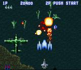 Aero Fighters SNES Destroy all enemies to collect power ups